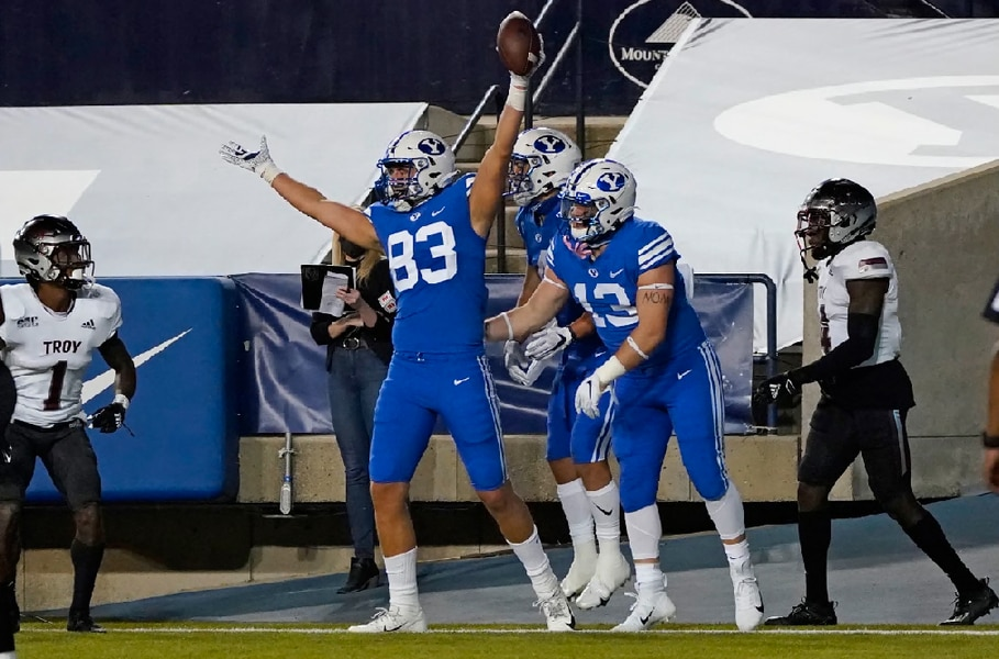 The BYU Cougars are 'going to keep dancing' through season should more games be played in empty stadiums