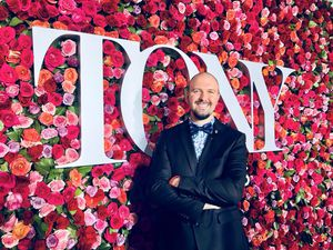 (Photo courtesy Pioneer Theatre Company) Christopher Massimine, seen here at the Tony Awards in New York, has been managing director of Utah's Pioneer Theatre Company since July 1, 2019.