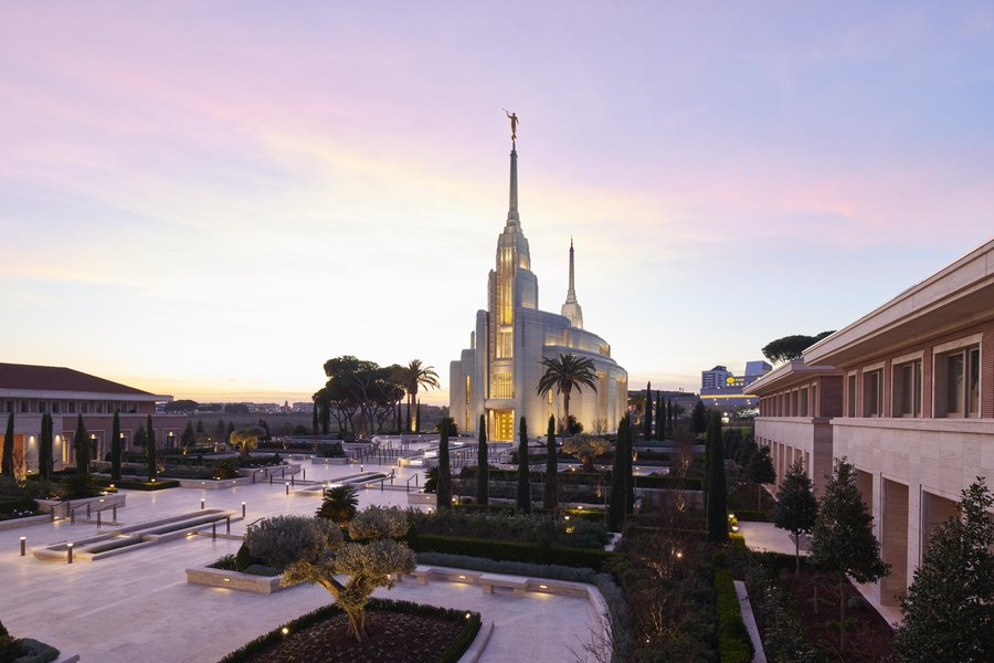 A historic first: All 15 top Latter-day Saint leaders will be in Rome for temple dedication this weekend