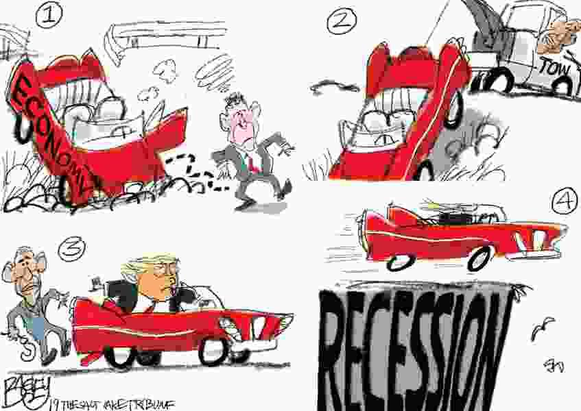 Bagley Cartoon: An Economic Parable
