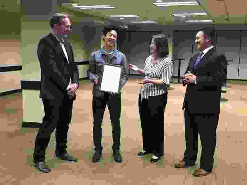 Utah's Nathan Chen awarded proclamation making May 16 'Nathan Chen Day' in Salt Lake