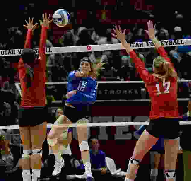 Undefeated BYU is the No. 1 women's volleyball team in the nation and No. 24 Utah is also rolling. The rivals meet Thursday night in Provo.