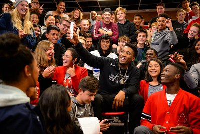Jazz star Donovan Mitchell is determined to stay true to himself as fame, fortune and demands on his time envelop him