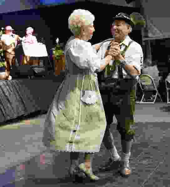 Oktoberfest revelers raise a stein, kick up their heels at Snowbird's annual festival