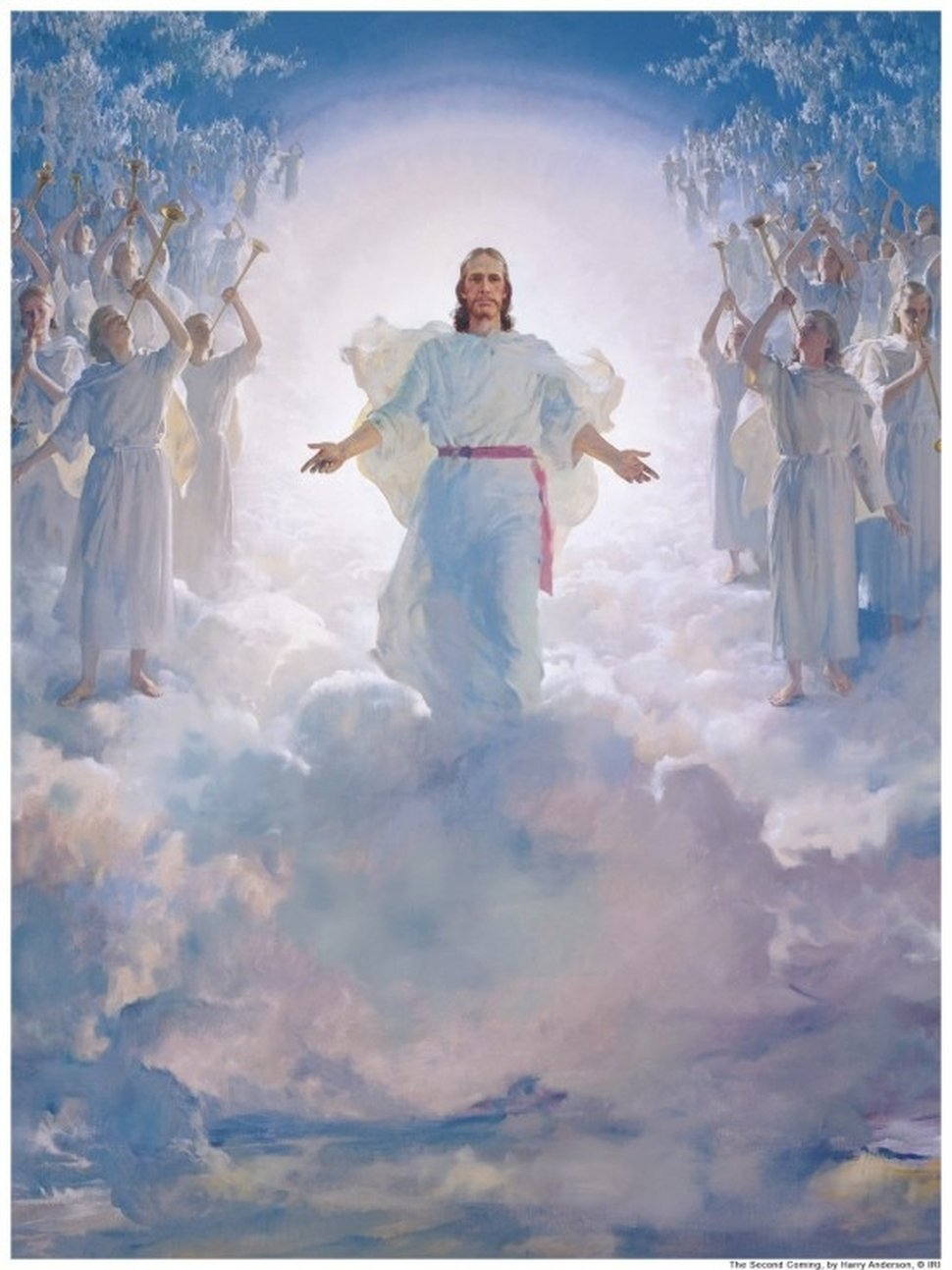 (Photo courtesy The Church of Jesus Christ of Latter-day Saints) Harry Anderson painted