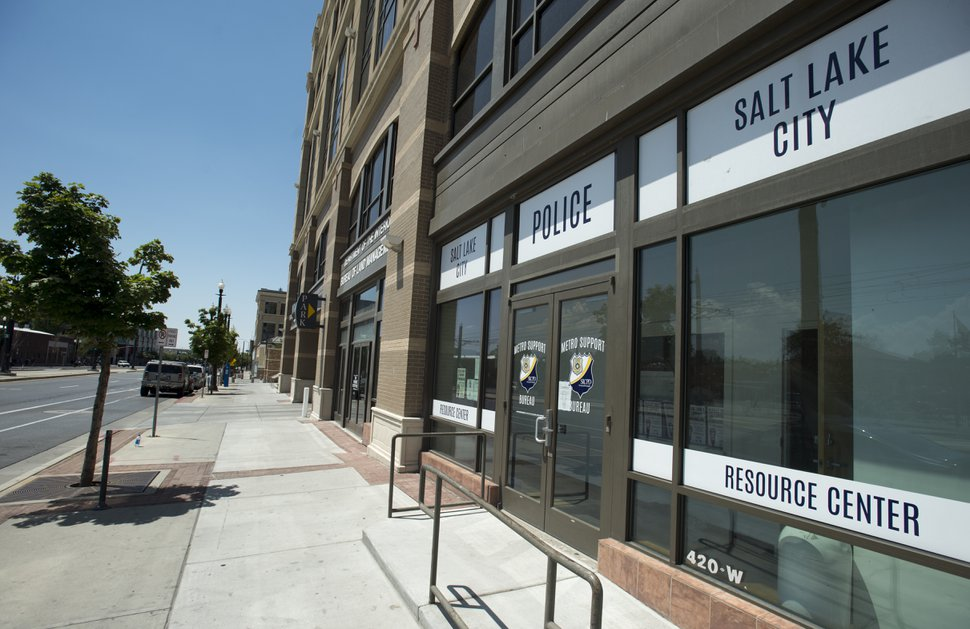 Rick Egan | The Salt Lake Tribune Speaker Greg Hughes has set up shop in an unused Salt Lake City Police Department office at 420 West 200 South, to form a short-term plan for the Rio Grande area. Friday, July 21, 2017.