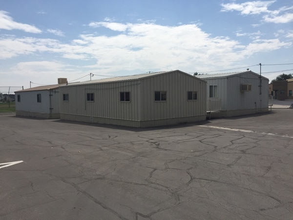 Several schools throughout Weber School District house students in portable classrooms. Many schools are filled to the brim as the district continues to grow and the district's bond proposal hopes to alleviate some of that overcrowding. Provided by Weber School District.