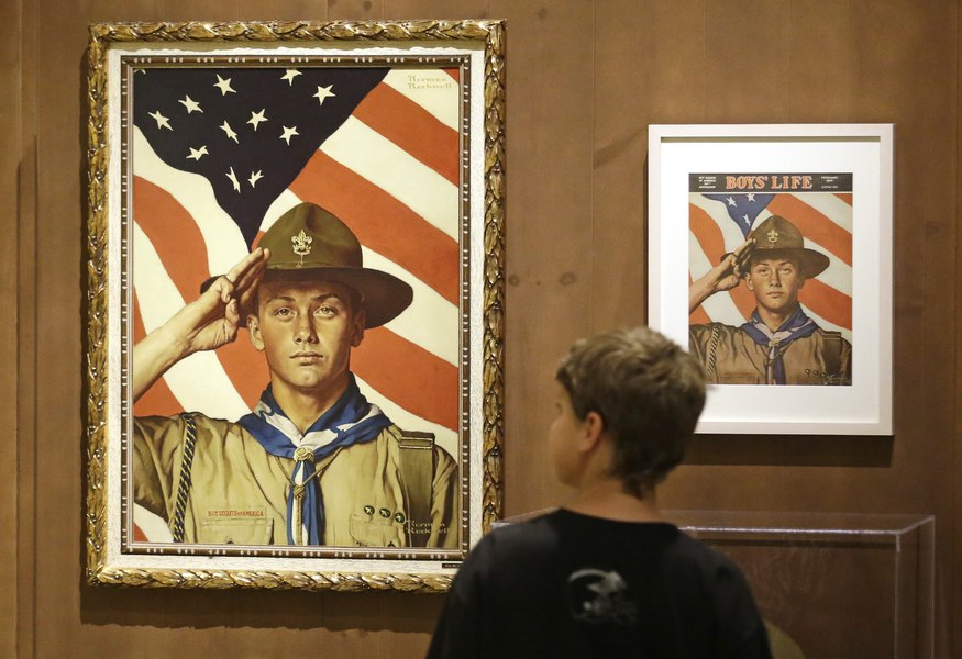 Commentary: Mormon church retreats from the Boy Scouts — and reality