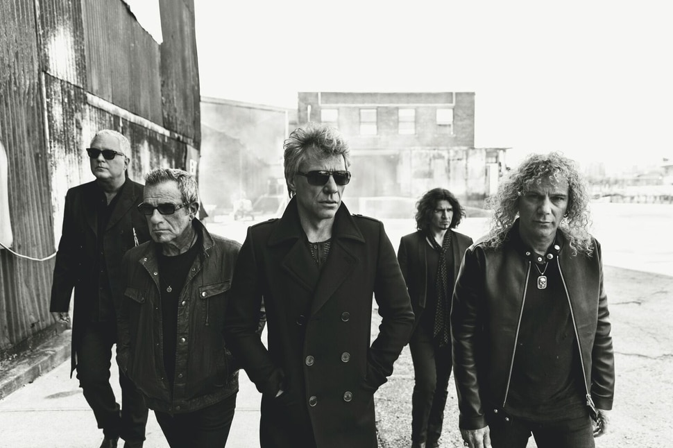 (Photo courtesy of Norman Jean Roy) Bon Jovi will be inducted into the Rock & Roll Hall of Fame in a ceremony in Cleveland on April 14, 2018.