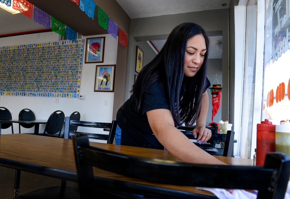 Leah Hogsten | The Salt Lake Tribune Our customers come two, three, four times a week, said Ani Anderson, daughter of Taqueria Los Lee owners Oscar and Rosa Lee.