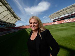 (Francisco Kjolseth     The Salt Lake Tribune)  Stephanie Lee, the new general manager for the Utah Royals FC.