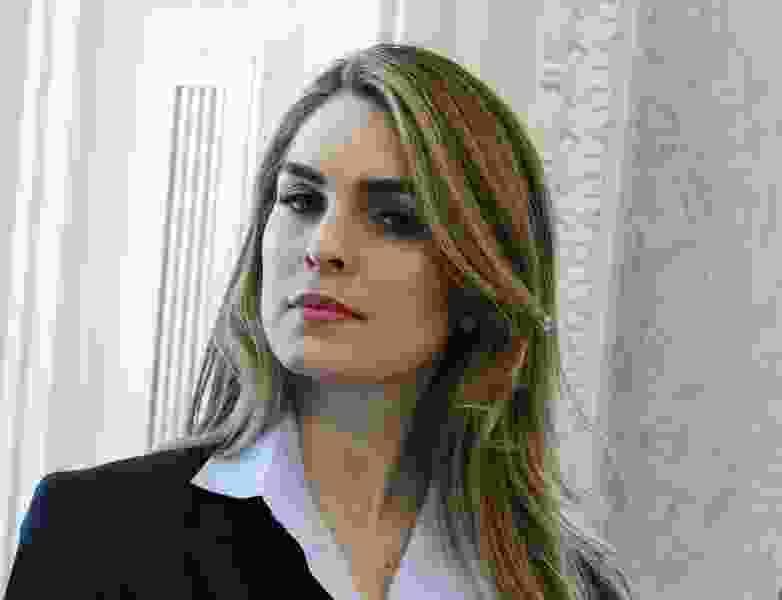 White House Communications Director Hope Hicks resigning