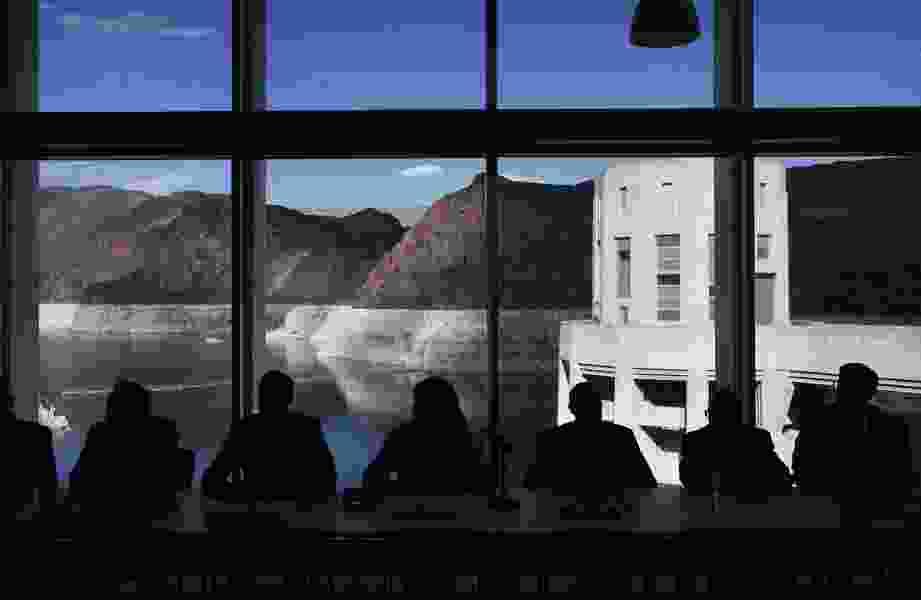 Hoover Dam ceremony marks Colorado River drought plan