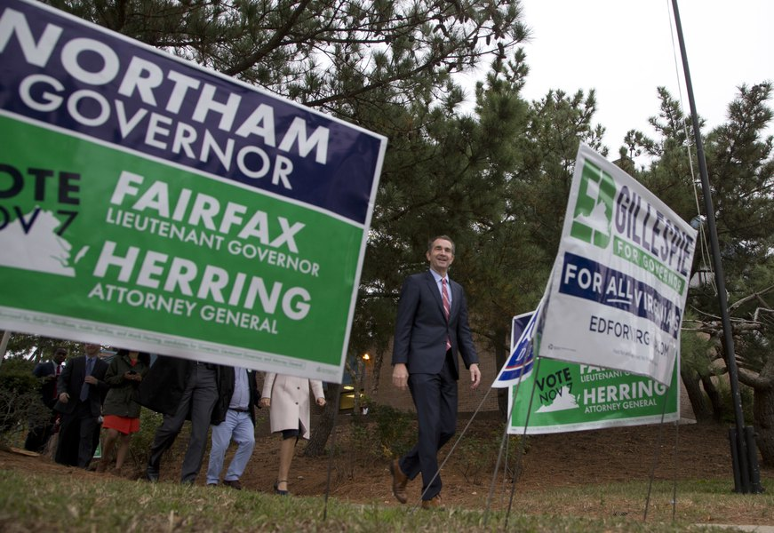 Democrat Ralph Northam defeats Ed Gillespie in race for ... on tea party of virginia, governor candidate in virginia, recount attorney general virginia,