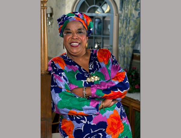 FILE - This October 1991 file photo shows actress Della Reese. Reese, the actress and gospel-influenced singer who in middle age found her greatest fame as Tess, the wise angel in the long-running television drama