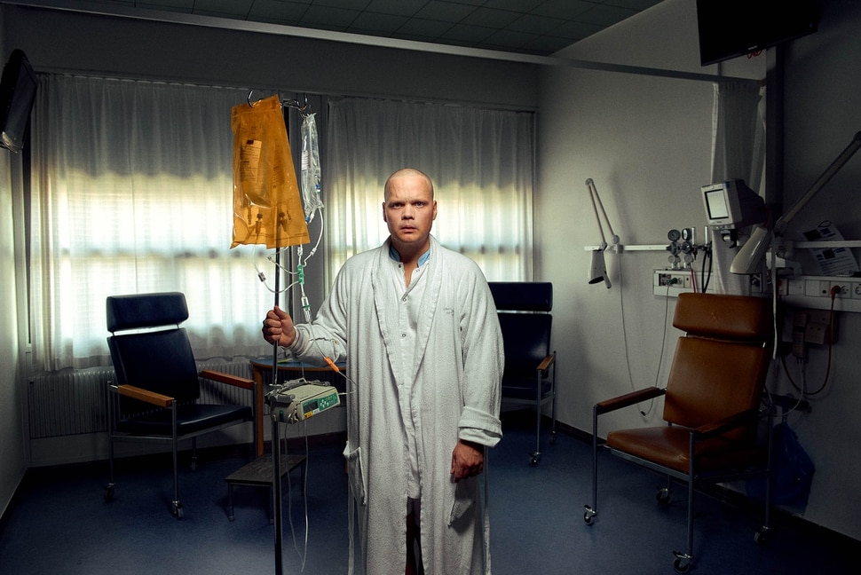 (Yannick Wolff | courtesy of Sundance Institute) Adam Ild Rohweder plays a young man diagnosed with testicular cancer, in Chemo Brain, directed by Kristian Håskjold, an official selection of the Indie Episodic program at the 2020 Sundance Film Festival.
