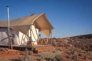 (Under Canvas Lake Powell-Grand Staircase) Under Canvas, a luxury camping company, currently operates three resorts throughout Utah. Two more have been proposed.