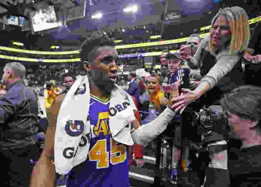 Don't look now, but the Jazz's Donovan Mitchell may have just turned the corner on his second NBA season