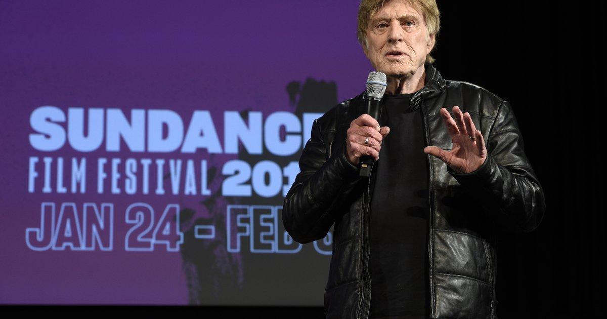 ผลการค้นหารูปภาพสำหรับ sundance festival 2019 robert redford