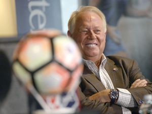 (Al Hartmann     The Salt Lake Tribune) In the face of mounting pressure after allegedly making a series of racist remarks, Real Salt Lake owner Dell Loy Hansen agreed to sell RSL and all of his other soccer properties in August of 2020. A year later, the Utah soccer franchise is still in ownership limbo.