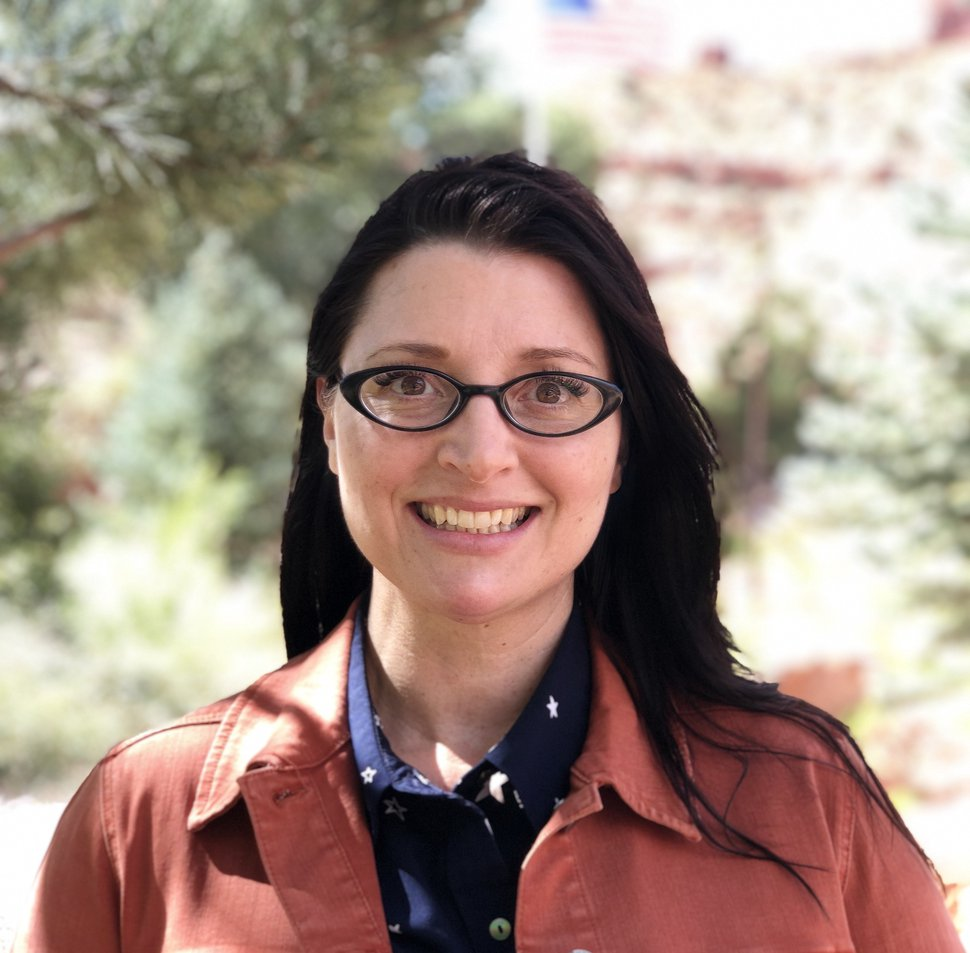 (Photo courtesy of Celeste Meyeres) Kanab City Councilwoman Celeste Meyeres opposes a major land acquisition by Best Friends Animal Society outside her southern Utah town in Kane County.
