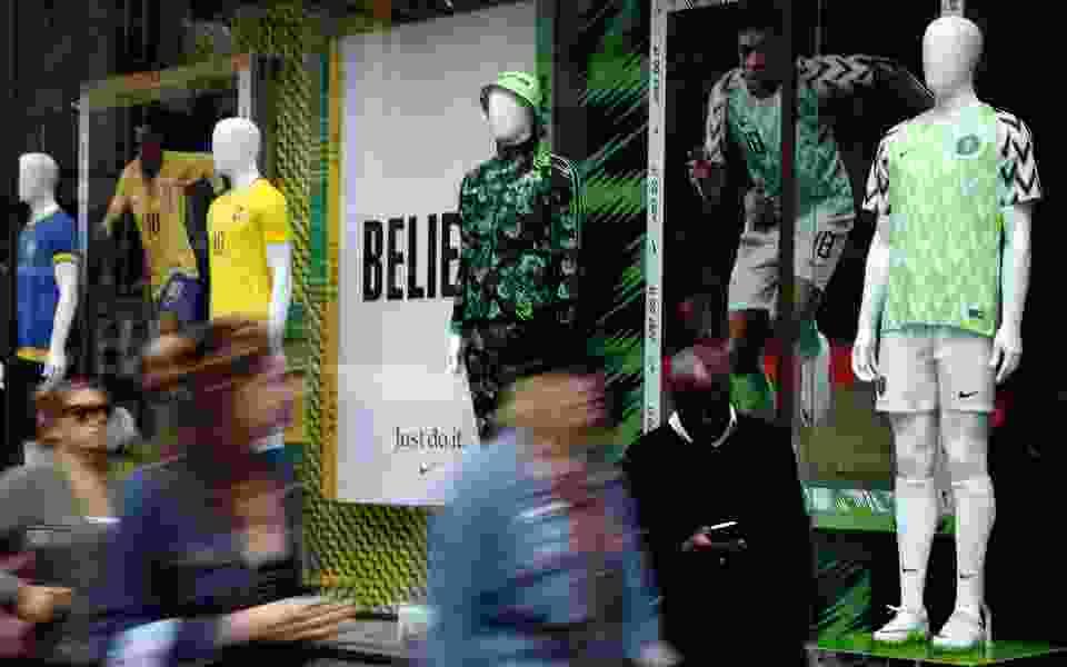 Fashion stars: Nigeria's bright, trippy uniforms a hit among World Cup uniforms
