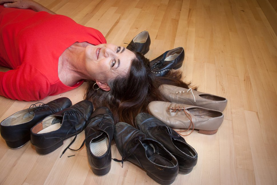 SLC Tap Director Debby Robertson, pictured, and Wendi Isaacson have collaborated to produce the fifth annual Tap Fest, a tap-dance intensive workshop that will be held Aug. 5 at Sugar Space Arts Warehouse in Salt Lake City. Courtesy photo