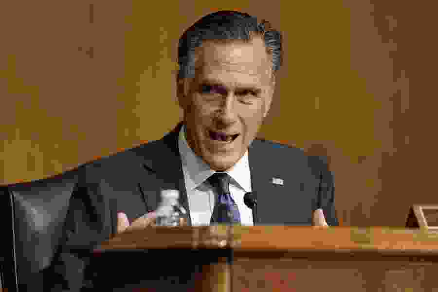 Mitt Romney proposes $50k cap for student-athlete compensation, while a Utah State leader warns of 'pay-for-play'
