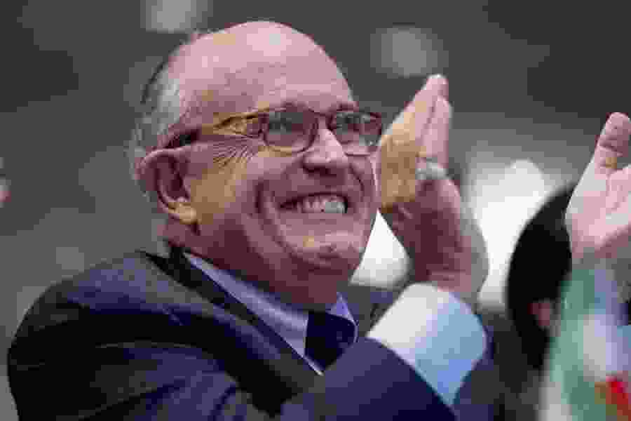 Eugene Robinson: Giuliani makes it harder for us to know the truth about Trump