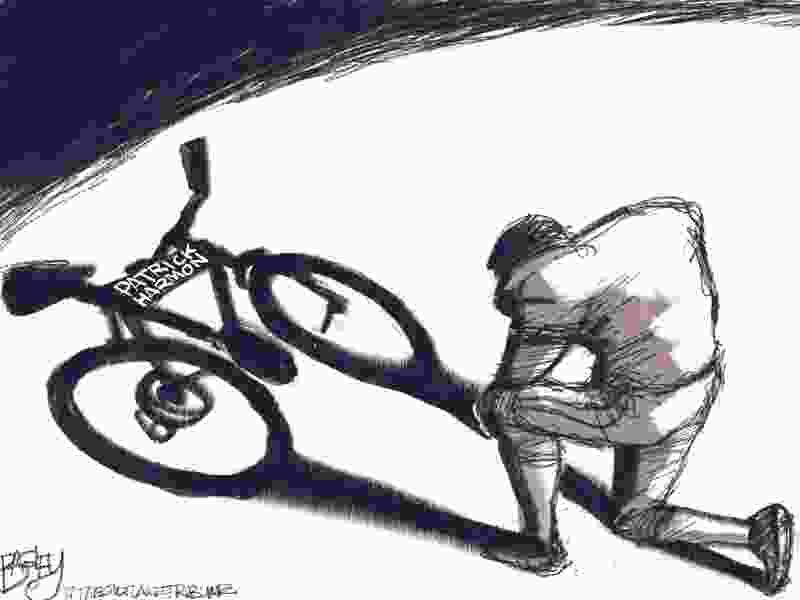 Bagley Cartoon: Taking a Knee in SLC