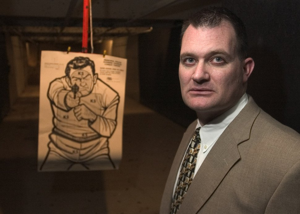 (Rick Egan | Tribune file photo) W. Clark Aposhian has taught concealed-carry classes for legislators, public officials, the governor and hundreds of other Utahns.