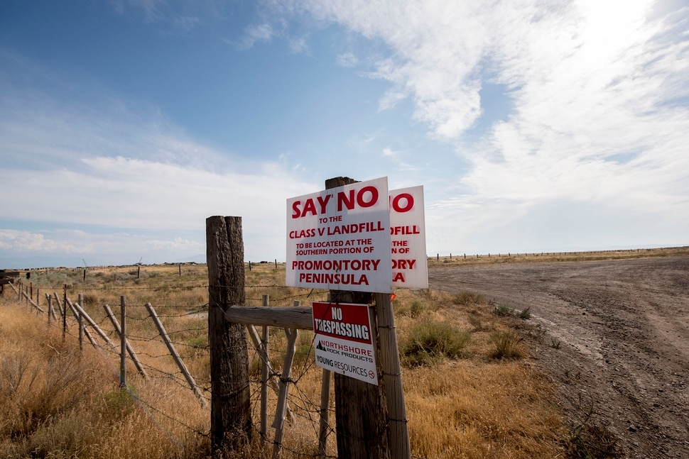 Landfill Near The Great Salt Lake Could Become One Of The
