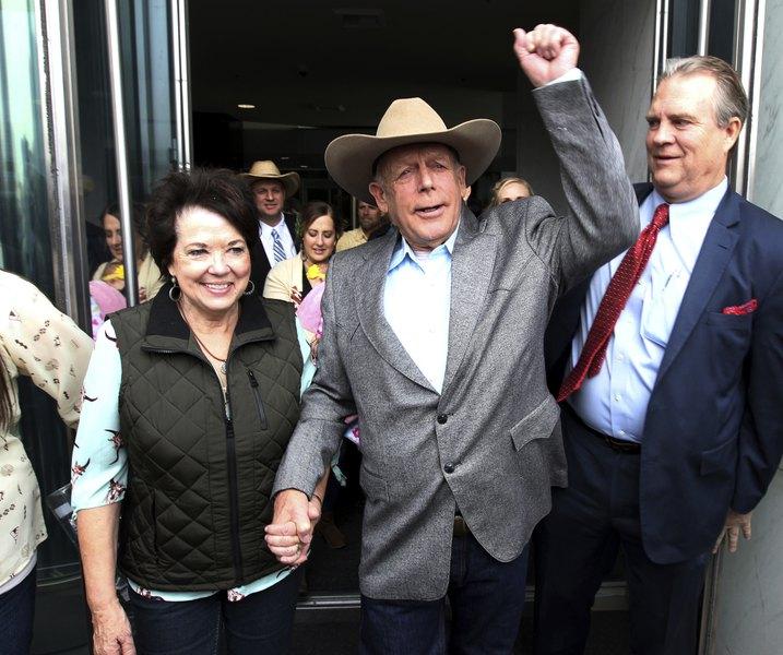 Image result for Bundy dismissal appealed by Sessions' prosecutors