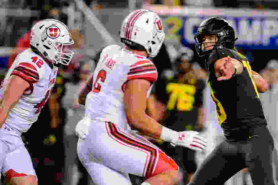 Utah's Bradlee Anae and Oregon's Penei Sewell are voted the Pac-12's top linemen