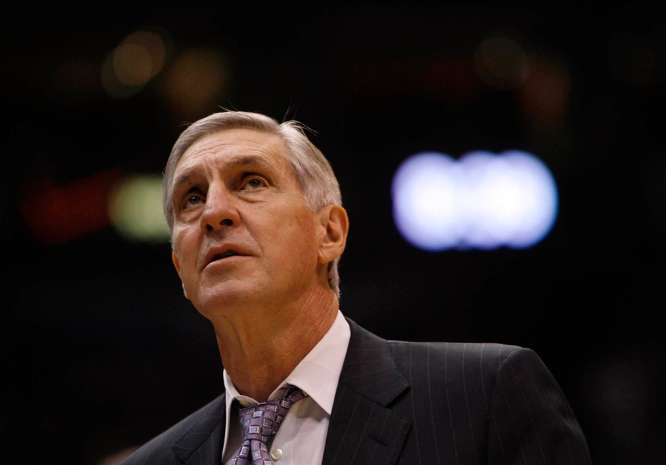 (Trent Nelson | Tribune file photo) Jerry Sloan won his 1,000th game as coach of the Jazz on Nov. 7, 2008.