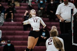 (Photo courtesy of Lauren Jardine) Lone Peak graduate Lauren Jardine won the Gatorade Volleyball Player of the Year Award for Utah. She will be eligible to play for the University of Wisconsin this fall.