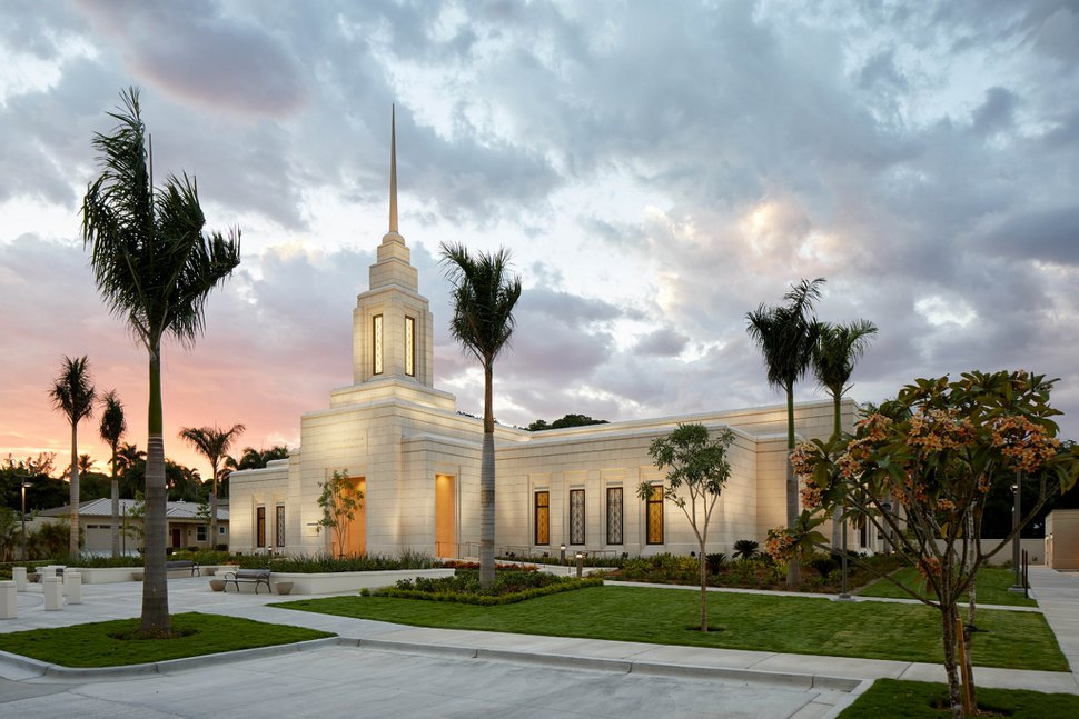 (Photo courtesy of The Church of Jesus Christ of Latter-day Saints) The Port-au-Prince Temple.