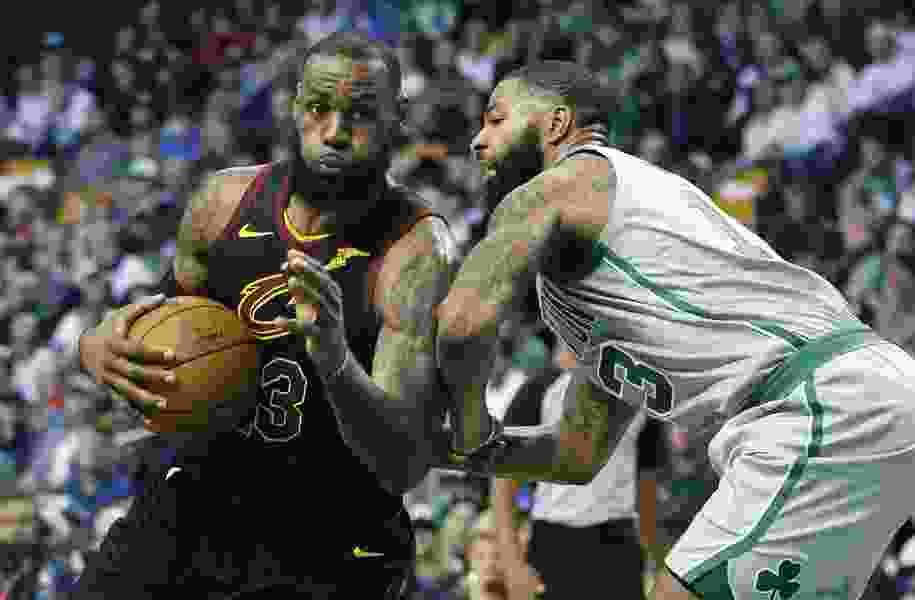 Wicked good: LeBron undaunted by Boston, Celtics' mystique
