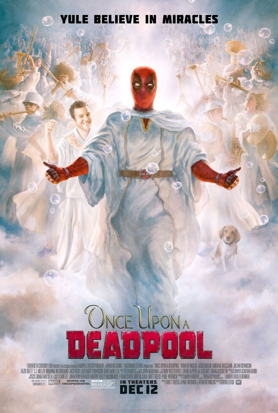 Online petition claims 'Deadpool' poster is 'religious discrimination' against Latter-day Saints