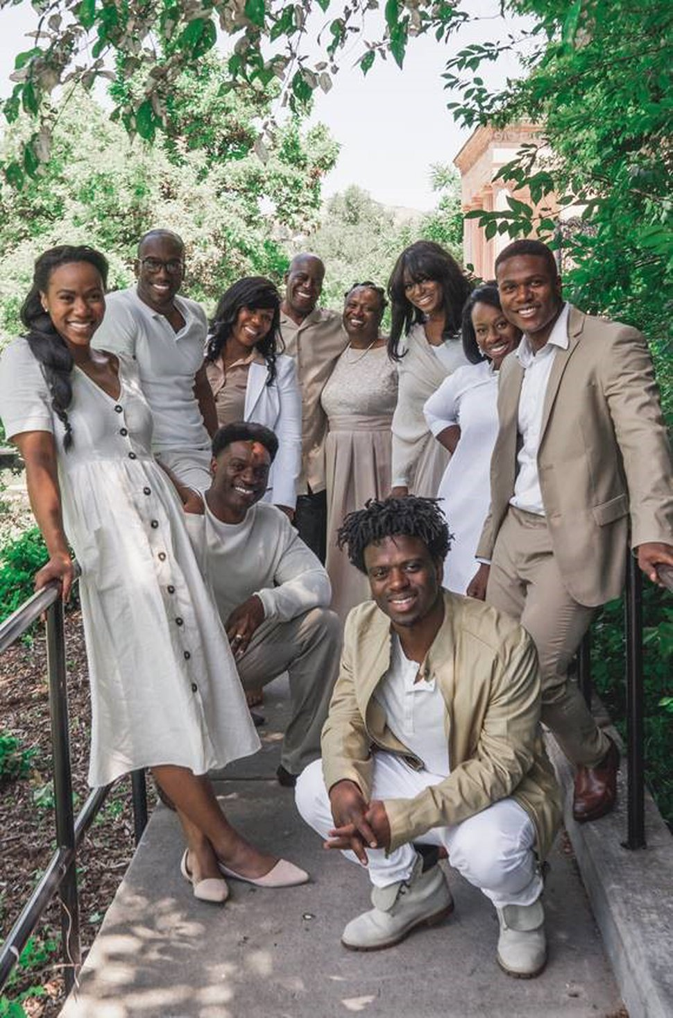 (Photo by Brandon Wilding courtesy of The Church of Jesus Christ of Latter-day Saints) The Bonner Family consists of eight Bonner siblings and their parents, all talented vocalists, who perform and record together.