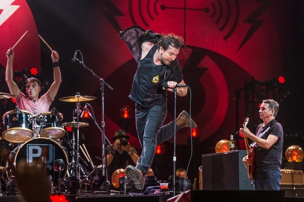 (Photo by Amy Harris | Invision/AP file photo) Eddie Vedder of Pearl Jam performs at Bonnaroo Music and Arts Festival on Saturday, June 11, 2016, in Manchester, Tenn.