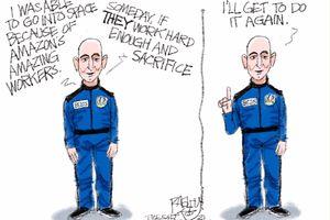 Democratizing Space   Pat Bagley