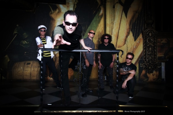 Courtesy photo UK punk band Damned, with singer Dave Vanian second from left