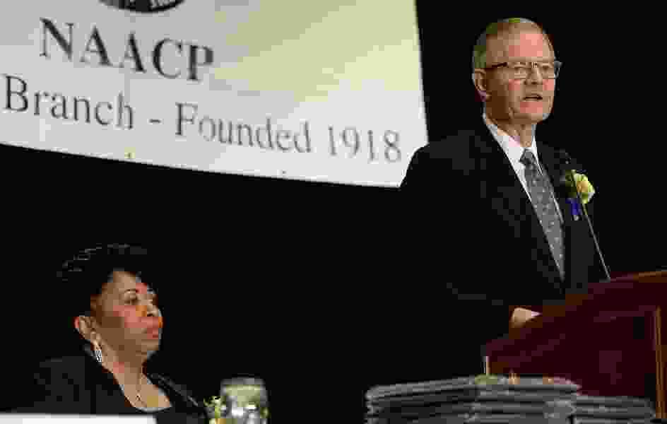 LDS Church and NAACP becoming closer allies, apostle says during MLK Day speech