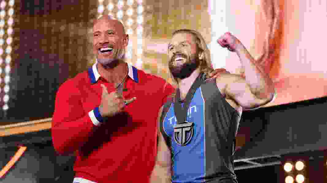 'The Rock' picked a Utahn to compete in 'The Titan Games.' And he almost made it to the finals.