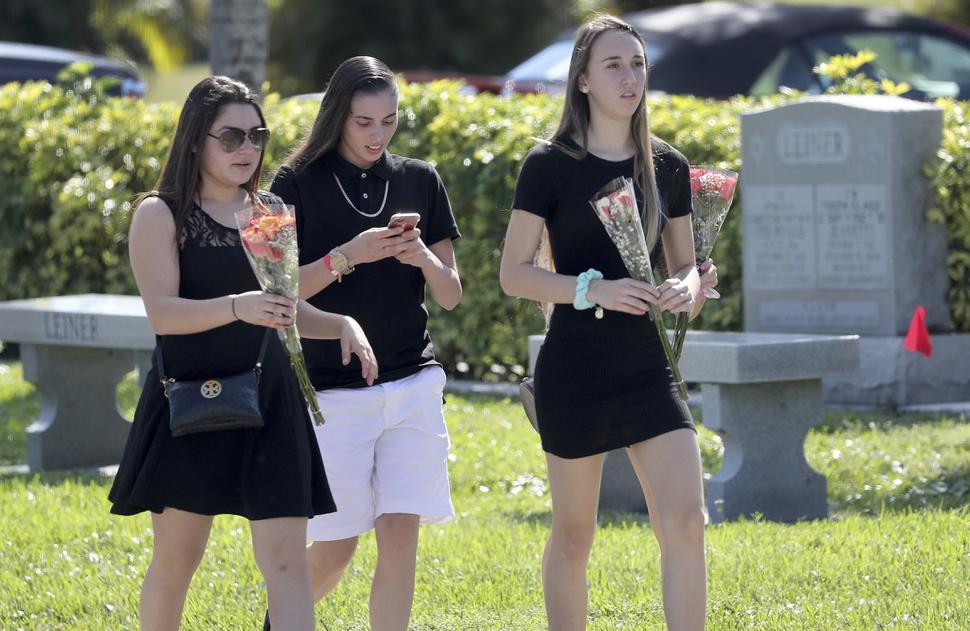 Funerals Grieving Teens Raw Emotions After School