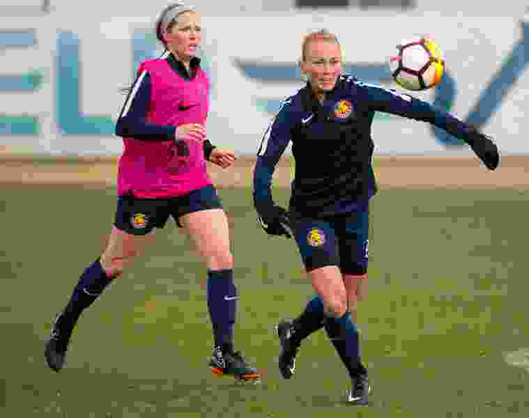 The Iceland international who scored the first goal in Utah Royals history is making an immediate impact in the NWSL