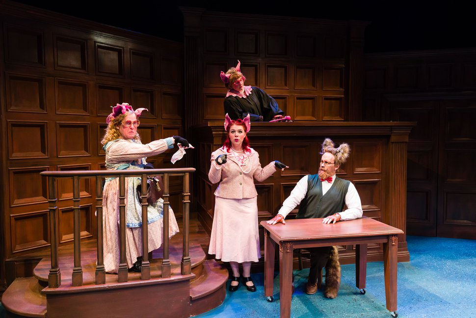 (Courtesy dav.d photography) The cast of Salt Lake Acting Company's