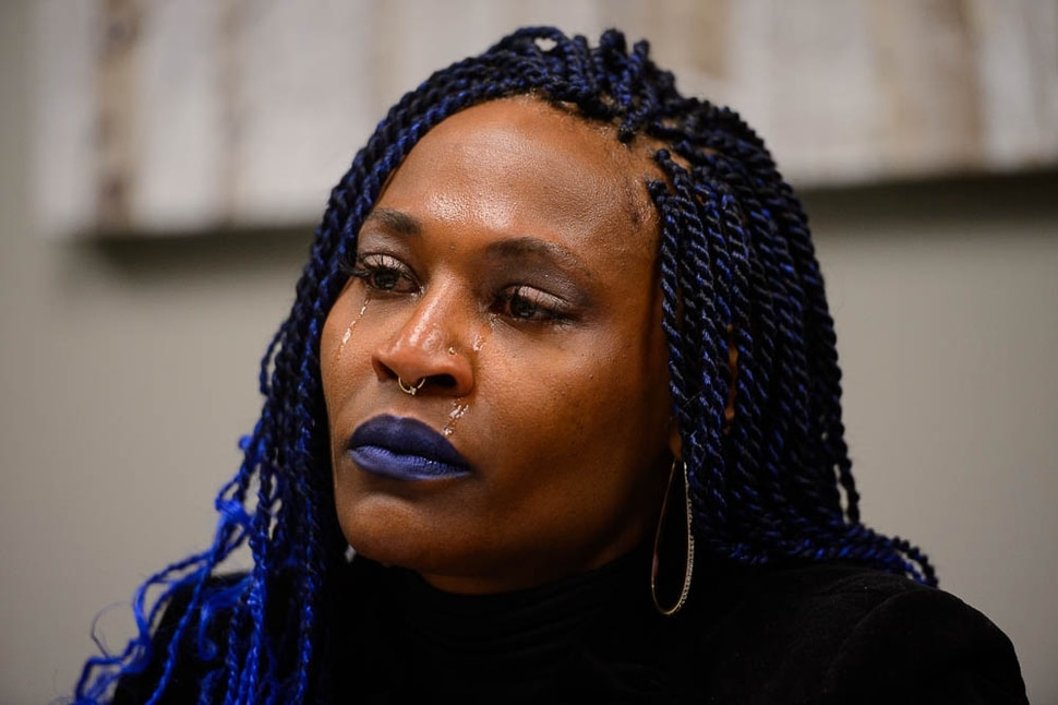 (Trent Nelson | The Salt Lake Tribune) LaToya Mack talks about her daughter, Cindreia Simone Europe, in Murray on Friday March 29, 2019. Europe was run over by a Unified Police Department officer in a Millcreek parking lot on March 5 2019.