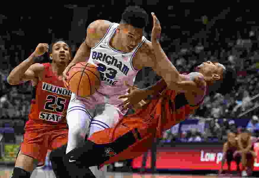 BYU starts off hot, beats Illinois State 80-68 for fourth consecutive win